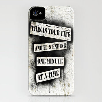 This is your life - Fight Club iPhone Case by Nicklas Gustafsson | Society6