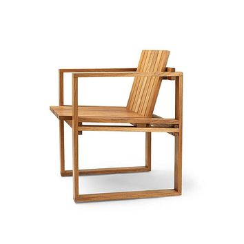 Bodil Kjaer Teak Dining Chair