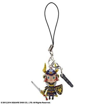Square Enix Theatrhythm Final Fantasy Warrior of Light Mascot Strap Earphone Jack Phone Charm