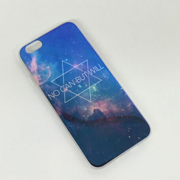 Hexagonal Galaxy Colorful Reflection Rubber creative case for iPhone 5s 6 6s creative case iPhone 6 6s Plus Gift-76