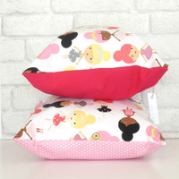 Cushion for girls room/nursery - Ballet dancer design