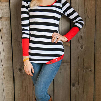 Cupshe As Your Way Stripe Top