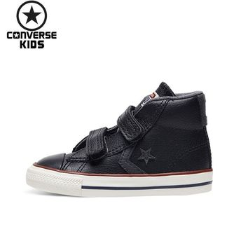 CONVERSE Children's Shoes Magic Subsidies High Help Anti-slippery Men Baby Sneakers