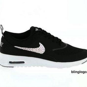 Bling Nike Shoes With Swarovski Elements Crystals 0284f491e