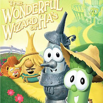 Veggie Tales-Wonderful Wizard Of Has (Dvd)