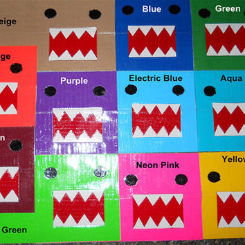 Build Your Own Monster Duck Tape Wallet by JustTapingAround