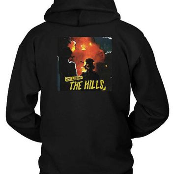 DCCKG72 The Weeknd The Hills Cover Album Hoodie Two Sided