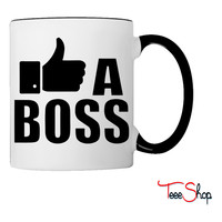 Like A Boss Thumbs Up Coffee & Tea Mug