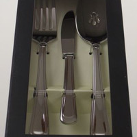 Oneida Cloister 3 Pc Serving Set Silverware Flatware 18/10 Stainless Steel SS
