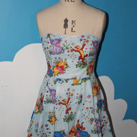 SALE - Winnie the pooh and friends sweet heart dress