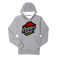 Pizza Slut hoodie heppy feed and sizing.