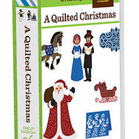 Cricut A Quilted Christmas Cartridge >> Brand-New <<