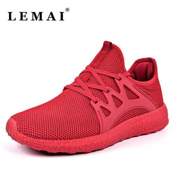 LEMAI Unisex Men Running Shoes For Women Athletic Run Trainers Sports Sneakers Shoes