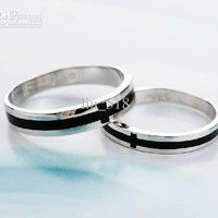 Wedding ring 925 sterling silver rings Couple rings