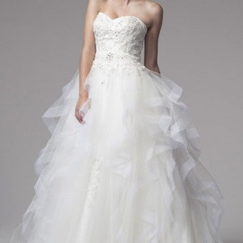 KCW1535 Tulle Ball Gown Wedding Dress by Kari Chang Eternal