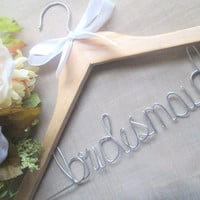 Personalized wedding hanger FREE mrs or love ring with each purchase