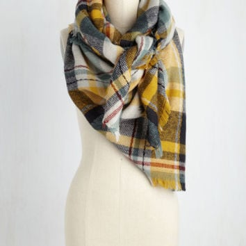 Willamette for the Weekend Scarf in Saffron