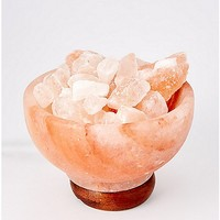 Bowl of Fire Salt Lamp - Spencer's