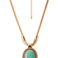 Bold Bohemian Pendant Necklace