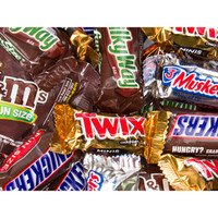 Mars Fun Size Candy Bars Assortment: 135-Piece Bag