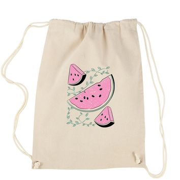 Watermelons Drawstring Backpack