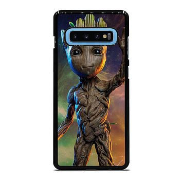 BABY GROOT GUARDIAN Samsung Galaxy S10 Plus Case Cover