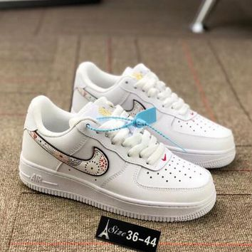 Nike Air Force 1 Fashion Women Men Fireworks Embroidery Flat Sport Shoe Board Shoes Sneakers I-AA-SDDSL-KHZHXMKH