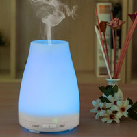 Ultrasonic Humidifier Aromatherapy Oil Diffuser Cool Mist With Color LED Lights essential oil diffuser Auto Shut-off