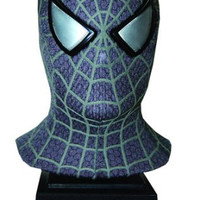 Black Suited Spiderman 3 Mask Replica