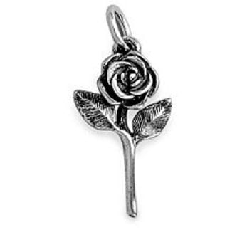 Rose Charm: James Avery