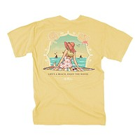 Life's a Beach Tee in Summer by Lily Grace