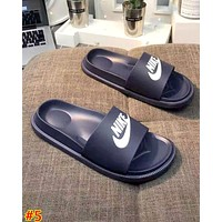 NIKE street fashion men and women casual fashion wild trend slippers #5