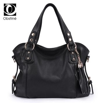2017 Women Messenger Bags Handbag Over Shoulder Tote Crossbody Big Sale Brand Sling Leather Black Designer Female Bolsas Bag