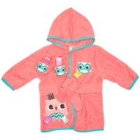 Owl Bathrobe & Booties (0-9m) 311076502