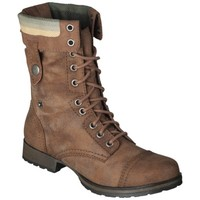 Women's Mossimo Supply Co. Khloe Blanket Topped Trooper Boot - Cognac
