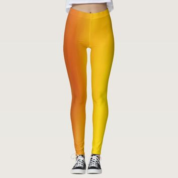 Orange/Yellow Women's Leggings