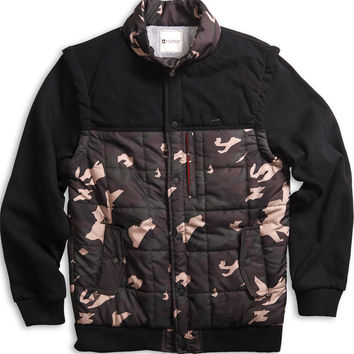 Matix The Townsmen Insulated Zip Hoodie - Camo