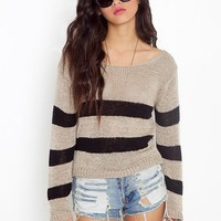 Gina Stripe Knit