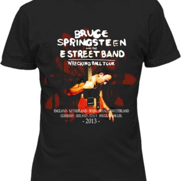 Bruce Springsteen Wrecking Ball 2013 Tour T-shirt