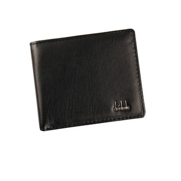 wallet men  Bifold design Business Leather Wallet  ID Credit Card Holder Purse Pockets famous brand bolsos WZZ07