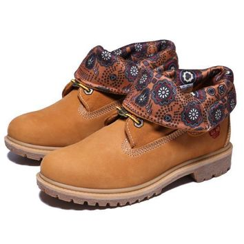 Timberland Women Classic Retro Boots Shoes-1