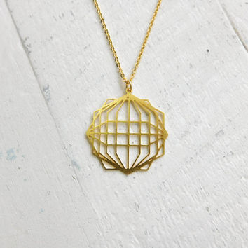 Geometric Pendant, Globe Necklace, litter jewelry, Ecological Jewelry, World Travel Gift, Environmental necklace, Man Jewelry geometry