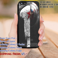 Star Winter Soldier iPhone 6s 6 6s+ 5c 5s Cases Samsung Galaxy s5 s6 Edge+ NOTE 5 4 3 #movie #disney #animated #marvel #comic dl8