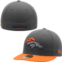 Denver Broncos New Era 2014 Thanksgiving 59FIFTY Fitted Hat – Graphite