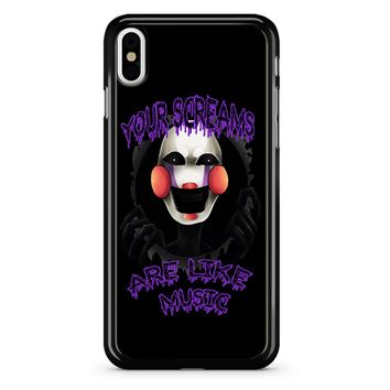 Five Nights At Freddy S The Marionette iPhone X Case