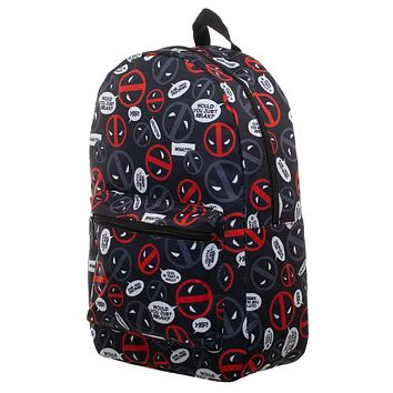 MPBP Marvel Deadpool Bag Sublimated Backpack - Deadpool Backpack Great Deadpool Gift