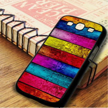 Wood Full Colour Samsung Galaxy S3 Case