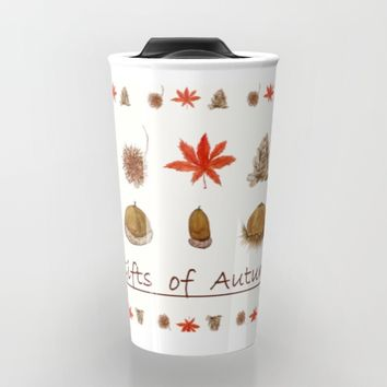 Gift of autumn watercolor painting  Travel Mug by Color and Color