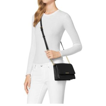 Daniela Small Leather Crossbody | Michael Kors
