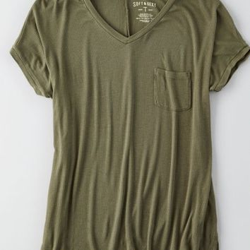 AEO Women's Soft & Sexy V-neck T-shirt